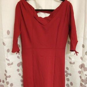 Unique Vintage red dress